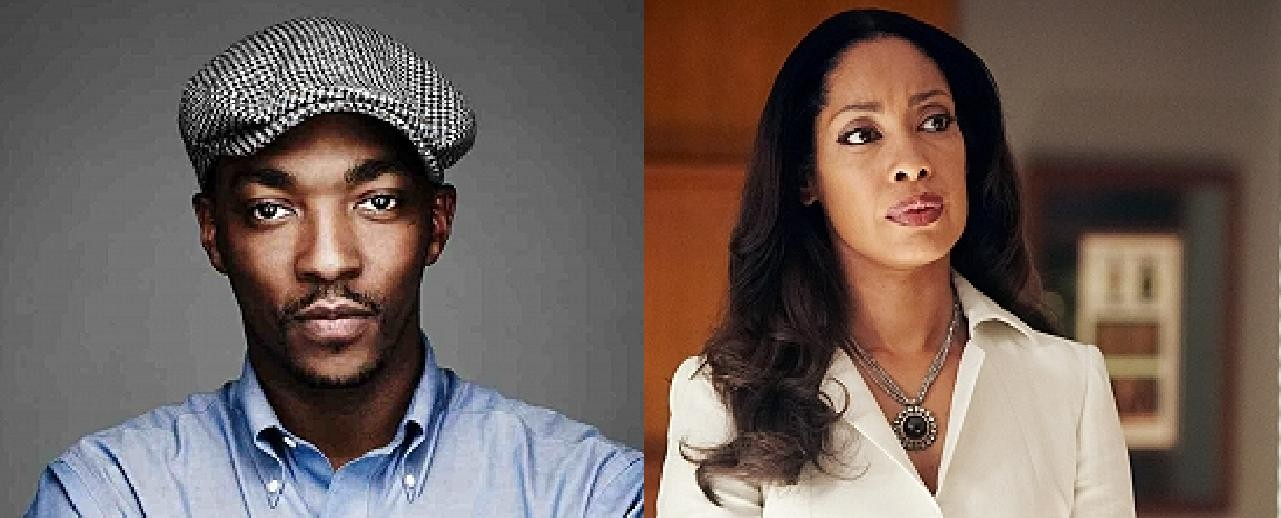 Anthony Mackie and Gina Torres appearing at the 2015 Emerald City Comicon