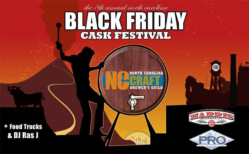 Black Friday means sipping NC brews at the 8th Annual Black Friday Cask Festival