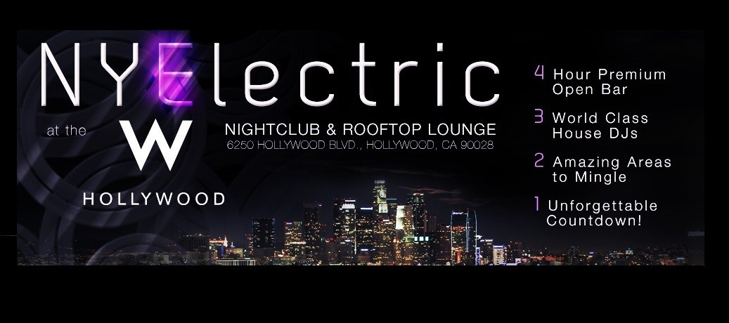 NYElectric at W Hollywood Rooftop