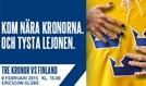 Sweden - Finland tickets at Ericsson Globe in Stockholm