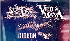 Upon a Burning Body and Veil of Maya tickets at The Roxy Theatre in Los Angeles