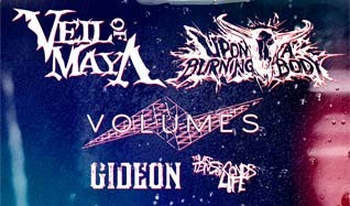 Upon a Burning Body, Volumes & Veil of Maya tickets at Mill City Nights in Minneapolis