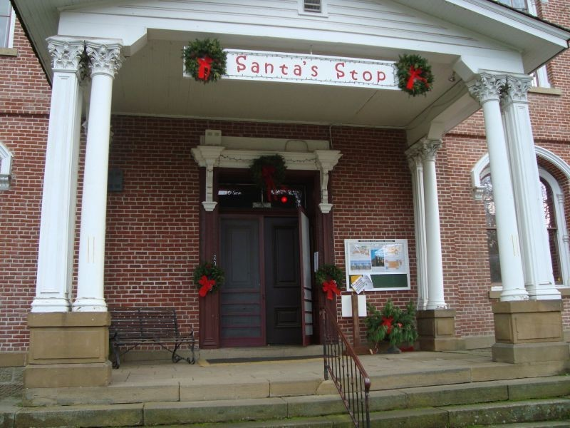 Christmas events in Jacksonville, Oregon.