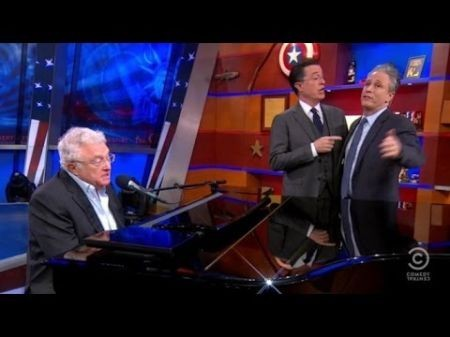 Willie Nelson, Toby Keith assist in sending The Colbert Report off in style