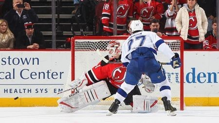 Devils blow another lead late, but win in shootout against Lightning