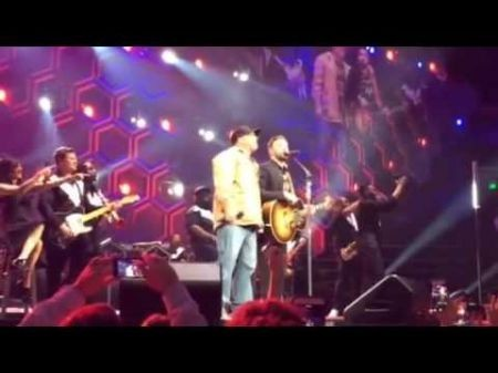 WATCH: Garth Brooks makes surprise appearance at Justin Timberlake show