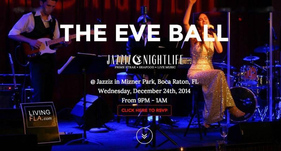 Spend Christmas Eve at Boca Raton's Jazziz