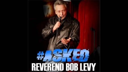 The Reverend Bob Levy has a hard hitting style