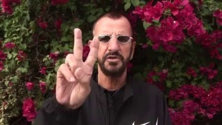 Ringo Starr announces completion of new album in holiday greeting message