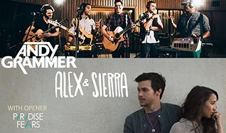 Andy Grammer, Alex & Sierra tickets at The Showbox in Seattle