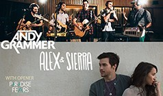Andy Grammer, Alex & Sierra tickets at The Showbox in Seattle
