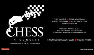 Chess In Concert tickets at Ericsson Globe in Stockholm