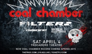 Coal Chamber tickets at Trocadero Theatre in Philadelphia
