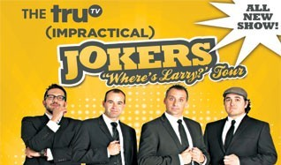 truTV Impractical Jokers tickets at Count Basie Theatre in Red Bank