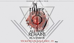 In Flames, All That Remains tickets at Showbox SoDo in Seattle
