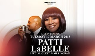 Patti LaBelle and James Ingram tickets at The SSE Arena, Wembley in London