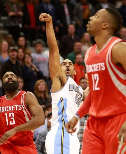 Even Afflalo's late heroics couldn't lift the Nuggs past Harden's Rockets