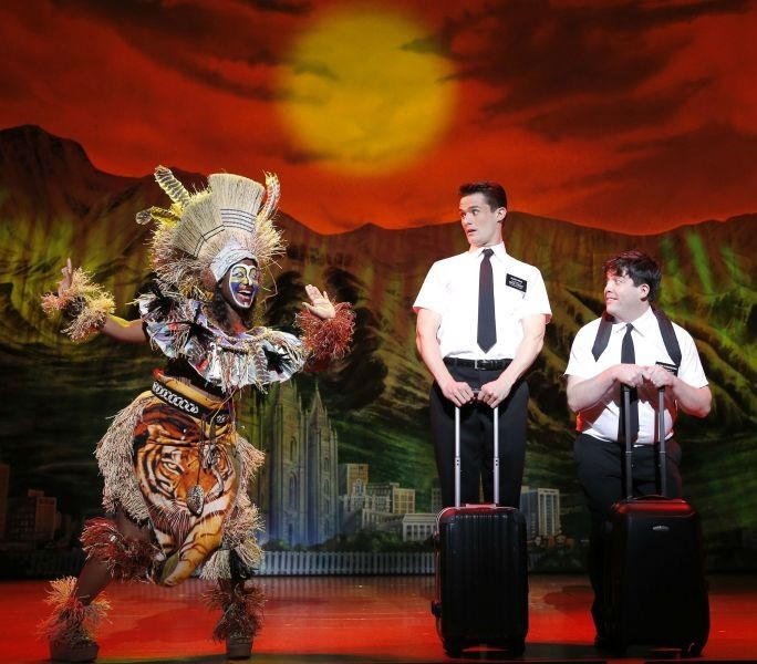The Book of Mormon captivates audiences