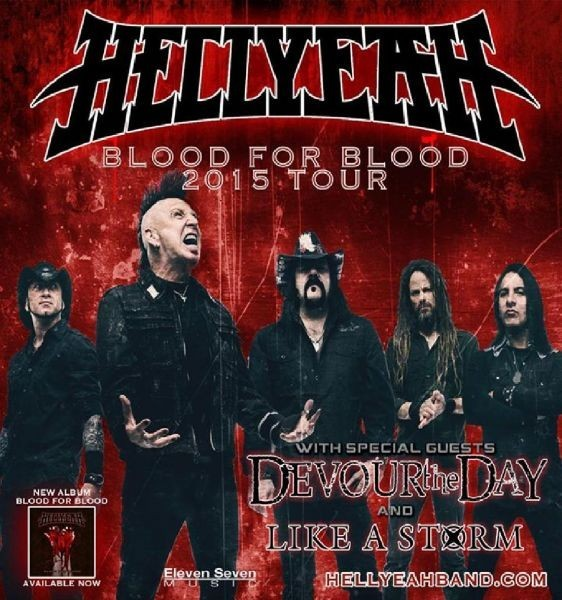 Knitting Factory presents: Hellyeah Blood For Blood Tour with Devour The Day