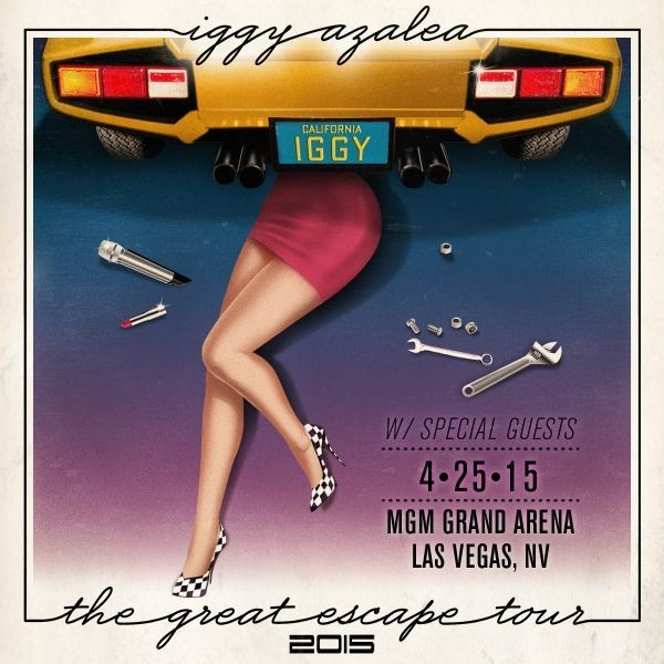 Tickets now on sale to see Iggy Azalea's The Great Escape Tour in Las Vegas