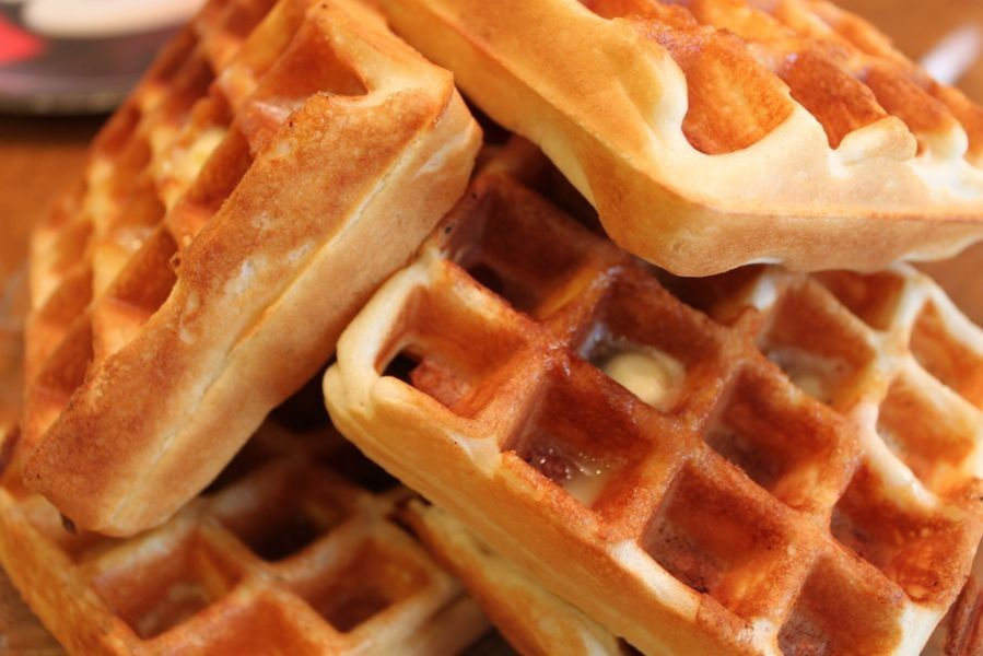 no power like waffle power, and in Tampa Bay, the power of the waffle ...