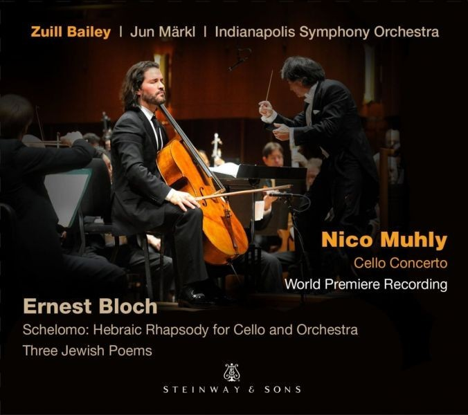 Zuill Bailey performs 'Muhly & Bloch' on new recording for Steinway & Sons