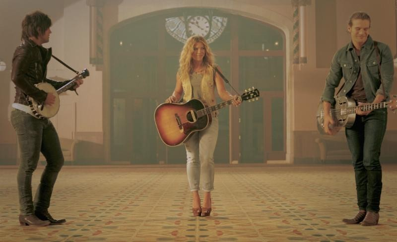 The Band Perry release video for Gentle On My Mind