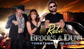 Reba, Brooks & Dunn tickets at The Colosseum at Caesars Palace in Las Vegas