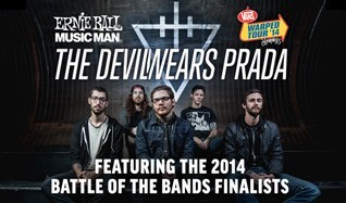 The Ernie Ball Battle Of The Bands & The Devil Wears Prada tickets at Fonda Theatre in Los Angeles