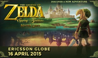 The Legend of Zelda: Symphony of the Goddesses - Master Quest tickets at Ericsson Globe in Stockholm