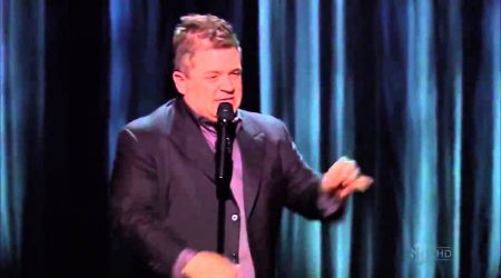 Celebrate anti-Valentine's Day with Patton Oswalt