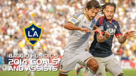 Baggio Husidic of LA Galaxy looking to get a starting role