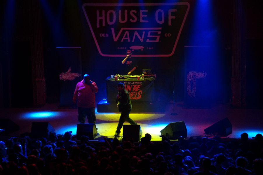 Brash and bold Run The Jewels take over House of Vans in Denver