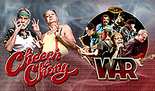 Cheech & Chong and WAR tickets at The Arena at Gwinnett Center in Duluth