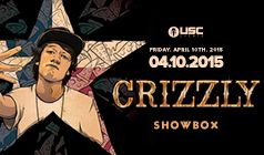 Crizzly tickets at The Showbox in Seattle