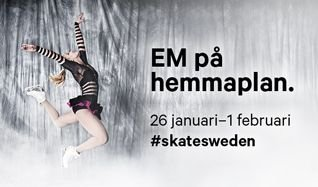 European Figure Skating Championships tickets at Ericsson Globe in Stockholm