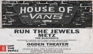 House Of Vans tickets at Ogden Theatre in Denver