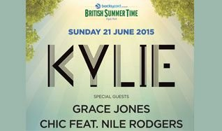 Kylie tickets at Hyde Park in London