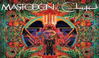 Mastodon & Clutch  tickets at Red Rocks Amphitheatre in Morrison