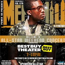 Meek Mill Concert NBA All Star Weekend