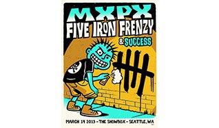 MxPx, Five Iron Frenzy tickets at The Showbox in Seattle