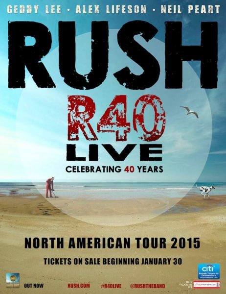 Just announced: Rush's R40 Live Tour is coming to Seattle's Key Arena