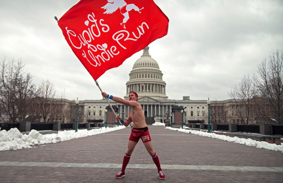 Get ready to run through the streets of Washington in your undies