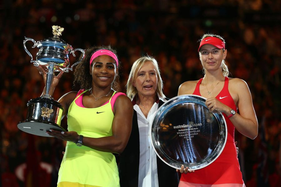 Williams powerful serve contributes to her sixth Aussie Open championship