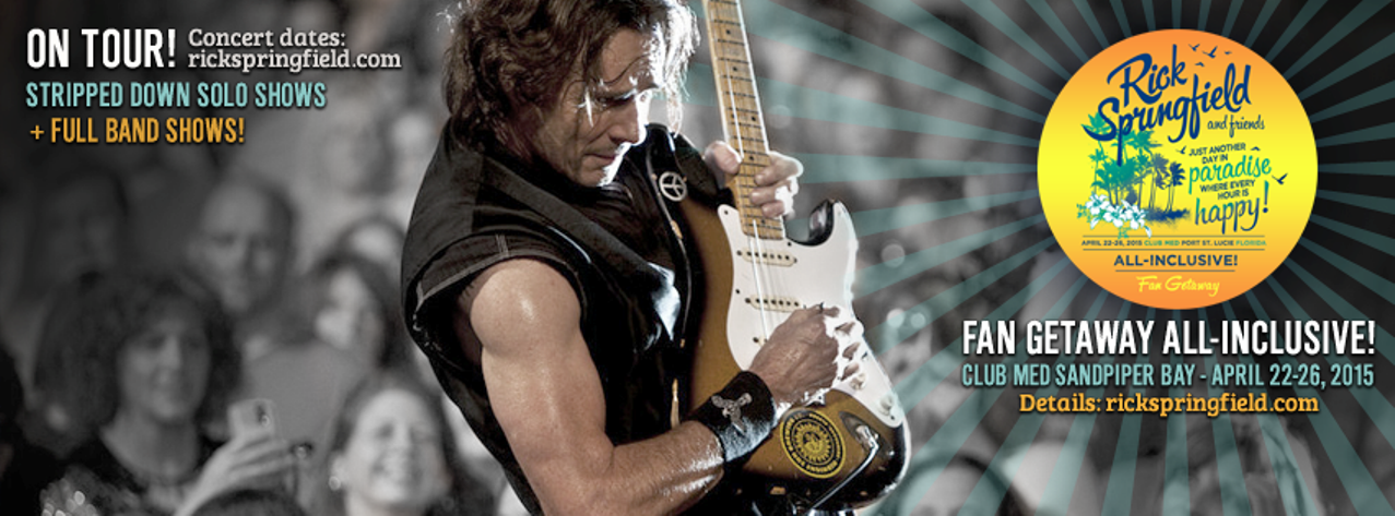 Rick Springfield's 'Stripped Down' solo show coming to Seattle's Neptune Theatre