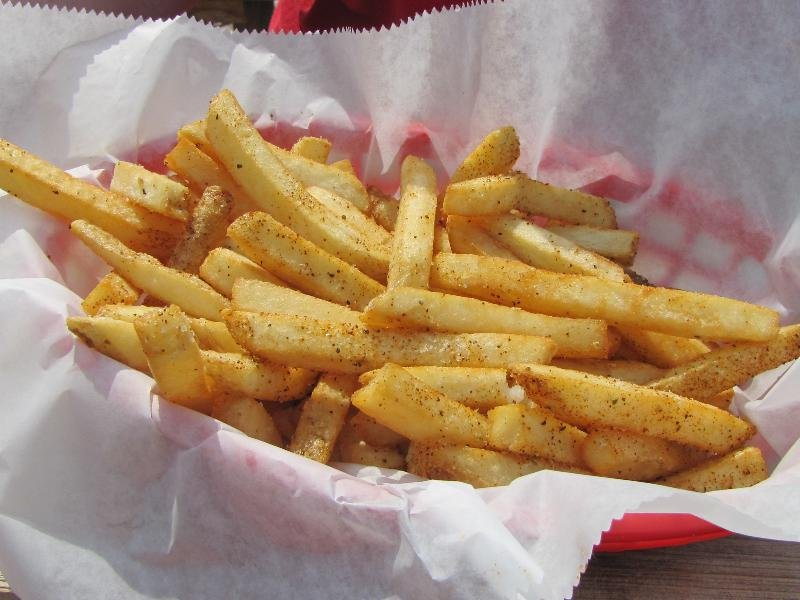Experience the best French fries in Indianapolis