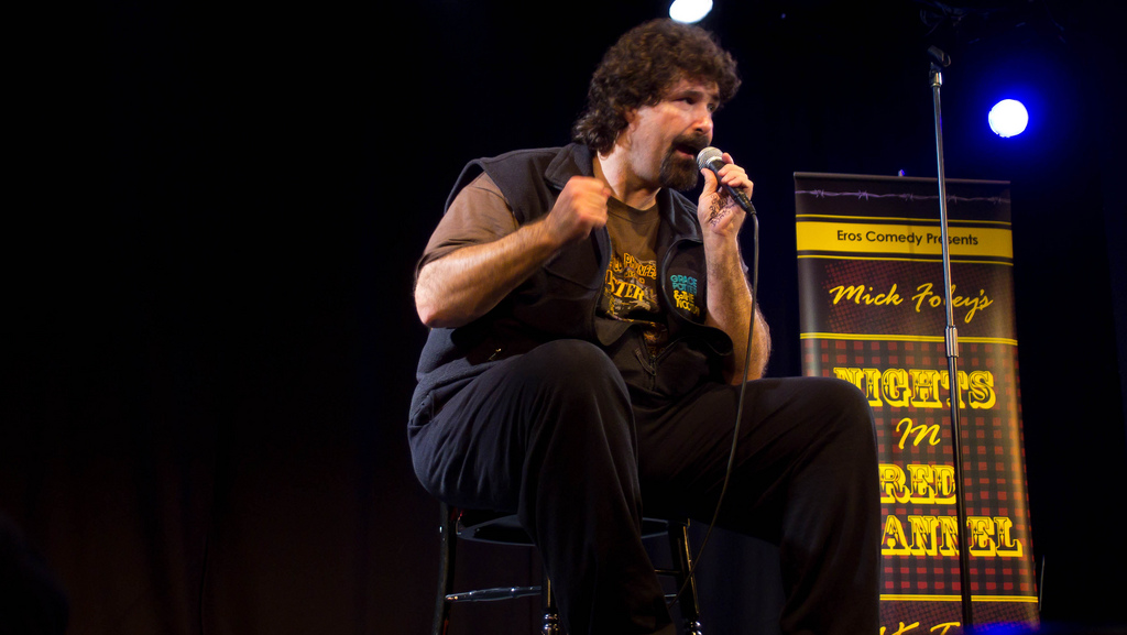 Legendary WWE wrestler Mick Foley to perform at Goodnights Comedy Club March 1