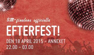 SM-finalerna Innebandy - Efterfest tickets at Annexet in Stockholm