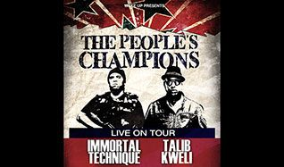Talib Kweli & Immortal Technique tickets at The Showbox in Seattle