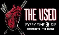 The Used tickets at Starland Ballroom in Sayreville